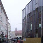 Bis Juni 2009 soll die Stadtbibliothek fertig sein