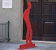 Von den Wänden bröckelt der Putz: Brechthaus