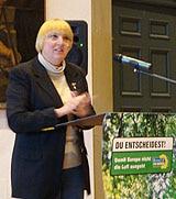 Stuttgart 21: Briefdebatte zwischen Claudia Roth...