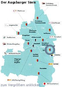 Holzerbau im Augsburger Stern