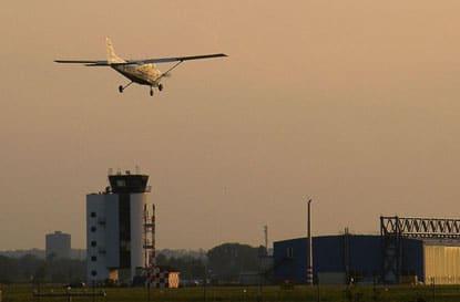 Augsburger Flughafen - Foto: Kleeblatt-Film