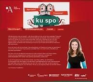 Ohne DFB-Logo: ku.spo-Webseite