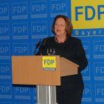 """interessant, fulminant"": Sabine Leutheusser-Schnarrenberger"