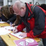 Bürgerbegehren unterzeichnet: Rainer Schönberg