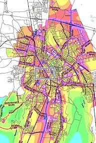 Lärmkarte der Stadt Augsburg