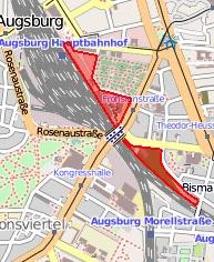Ehem. Ladehöfe zwischen Bahnhof und Bismarckbrücke