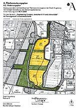 Innovationspark, Flächennutzungsplan