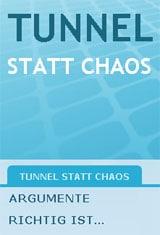 Webseite der Tunnelbefürworter