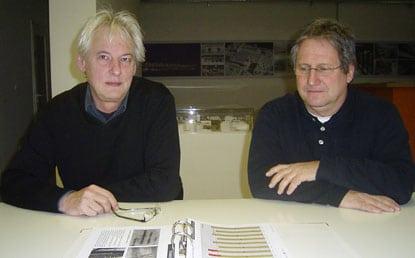 Jürgen Hermann und Stefan Öttl (v.l.)