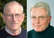Nur noch mit sehr theoretischen Chancen im nächsten Stadtrat vertreten: Werner Lorbeer, Rolf Harzmann (v.l.)