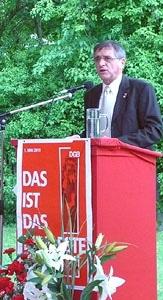 """""""Das ist das Mindeste!"""" - exklusive Maikundgebung des DGB-Regionsvorsitzenden Helmut Jung für die Hammerschmiedler"""