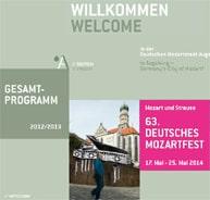 Webseite Mozartfest 2014