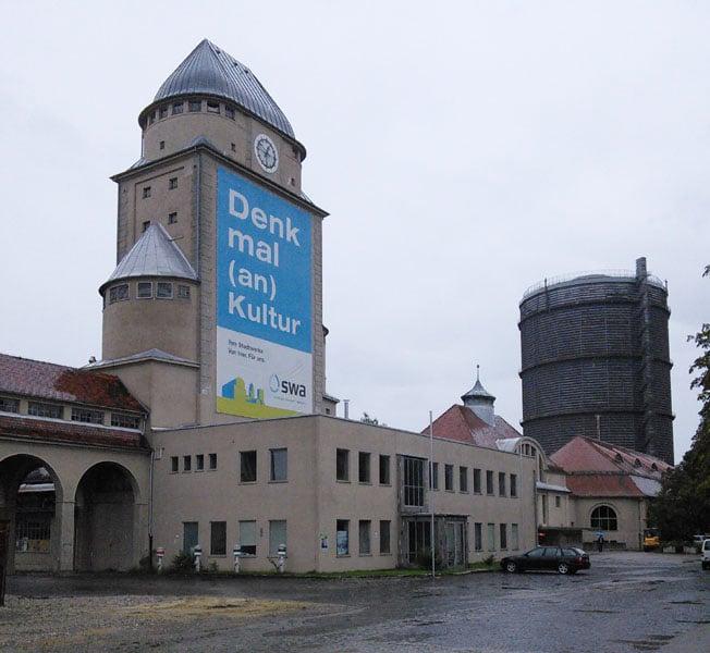Das im Eigentum der Stadtwerke befindliche Gaswerksgelände in Oberhausen