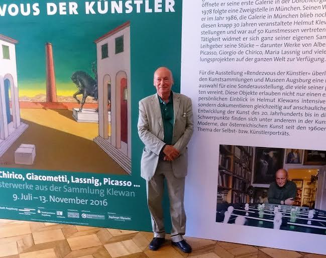 Helmut Klewan im Schaezlerpalais Foto: Lina Mann