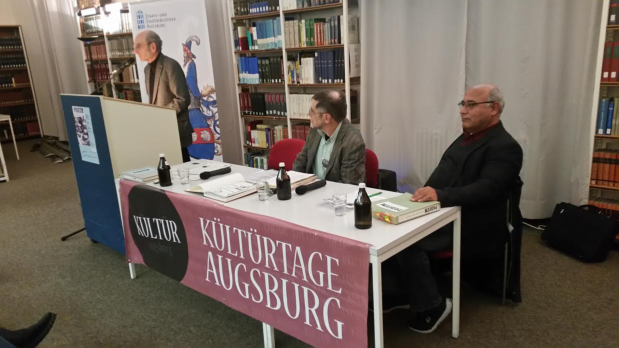 Dieter Ferdinand, Michael Friedrichs, Cemal Bozoglu (v.l) (c) DAZ