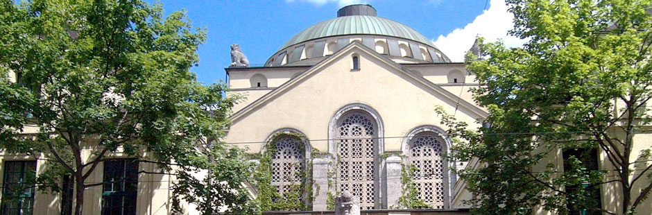 Foto: Jüdische Synagoge in Augsburg (c) Siegfried Kerpf/Stadt Augsburg