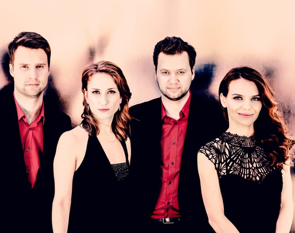 Das Armida Quartet Foto: Felix Broede
