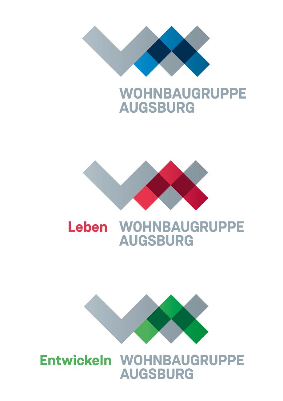 Die neuen Logos der ehemaligen WBG