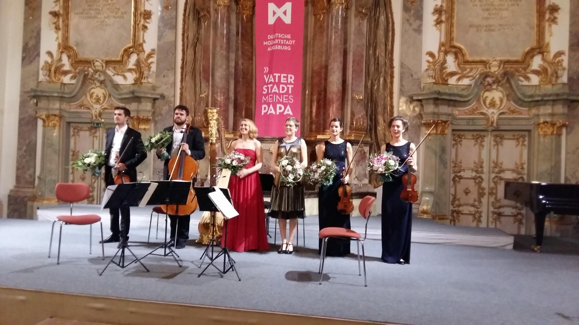 v.l. Caspar Vinzens, Lukas Sieber, Daniela Koch, Agnès Clément, Noémi Zipperling, Anna Katharina Wildermuth