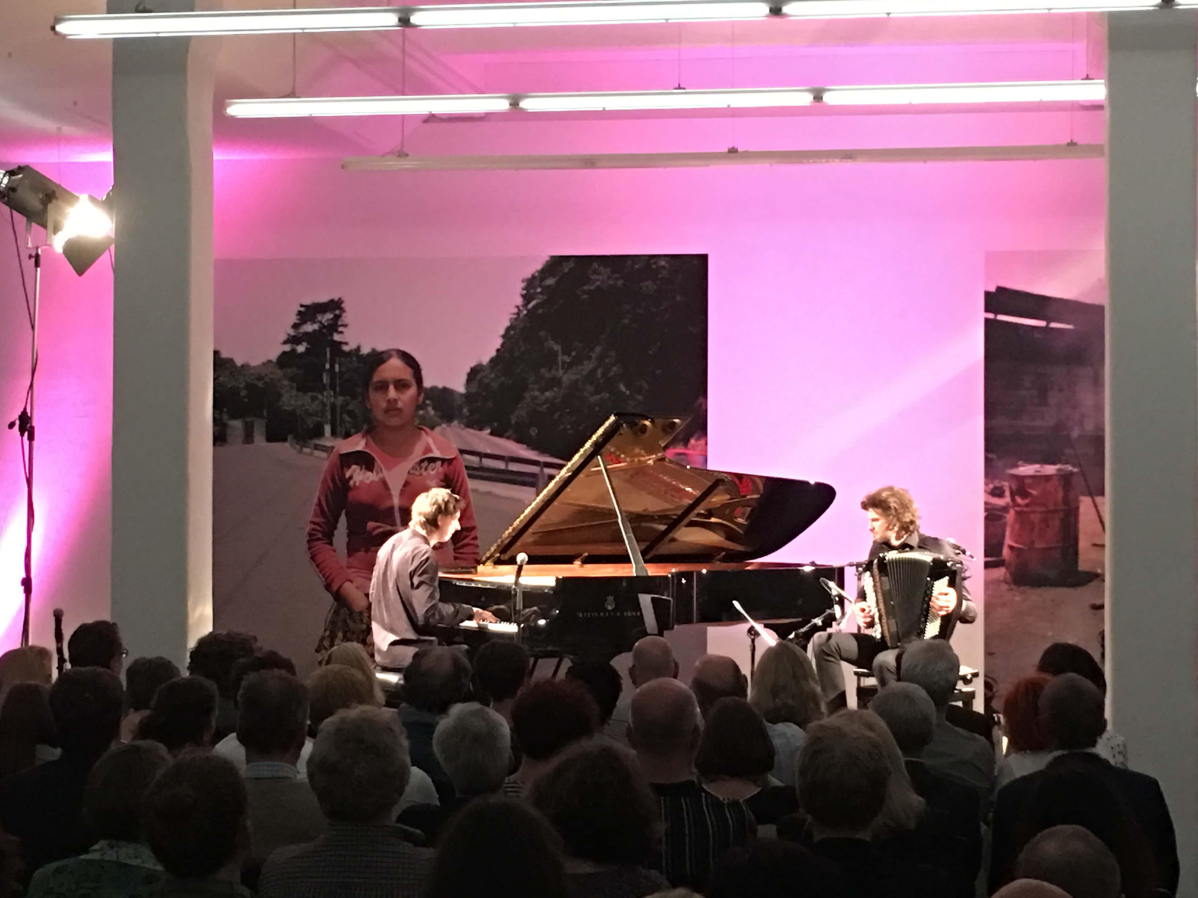Mozartfest 2017: Jazz-Duo Michael Wollny & Vincent Peirani. Foto (c) DAZ