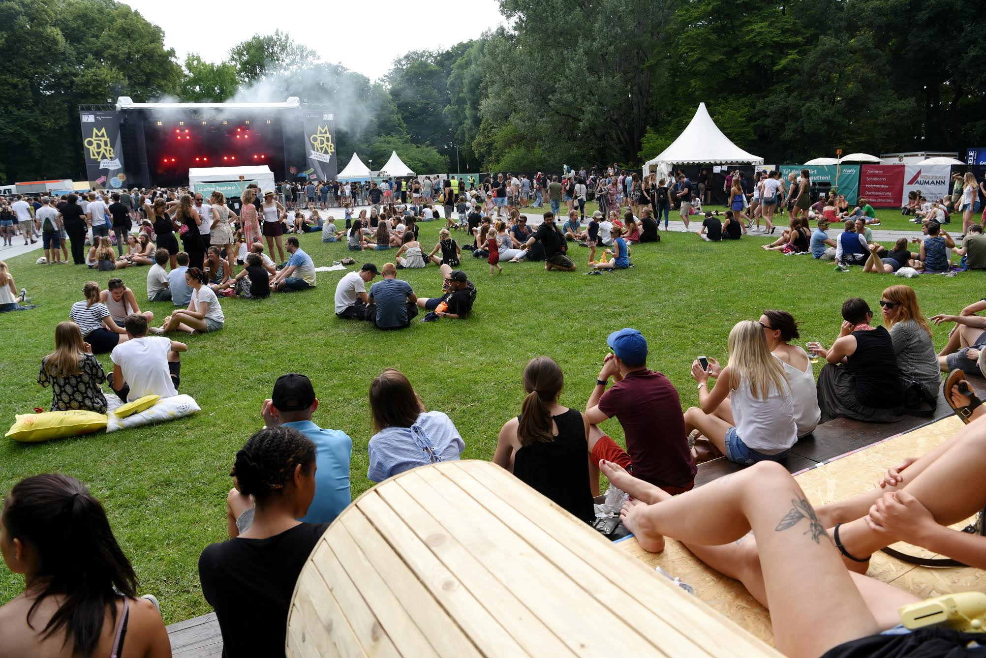 Modular 2017 im Wittelsbacher Park