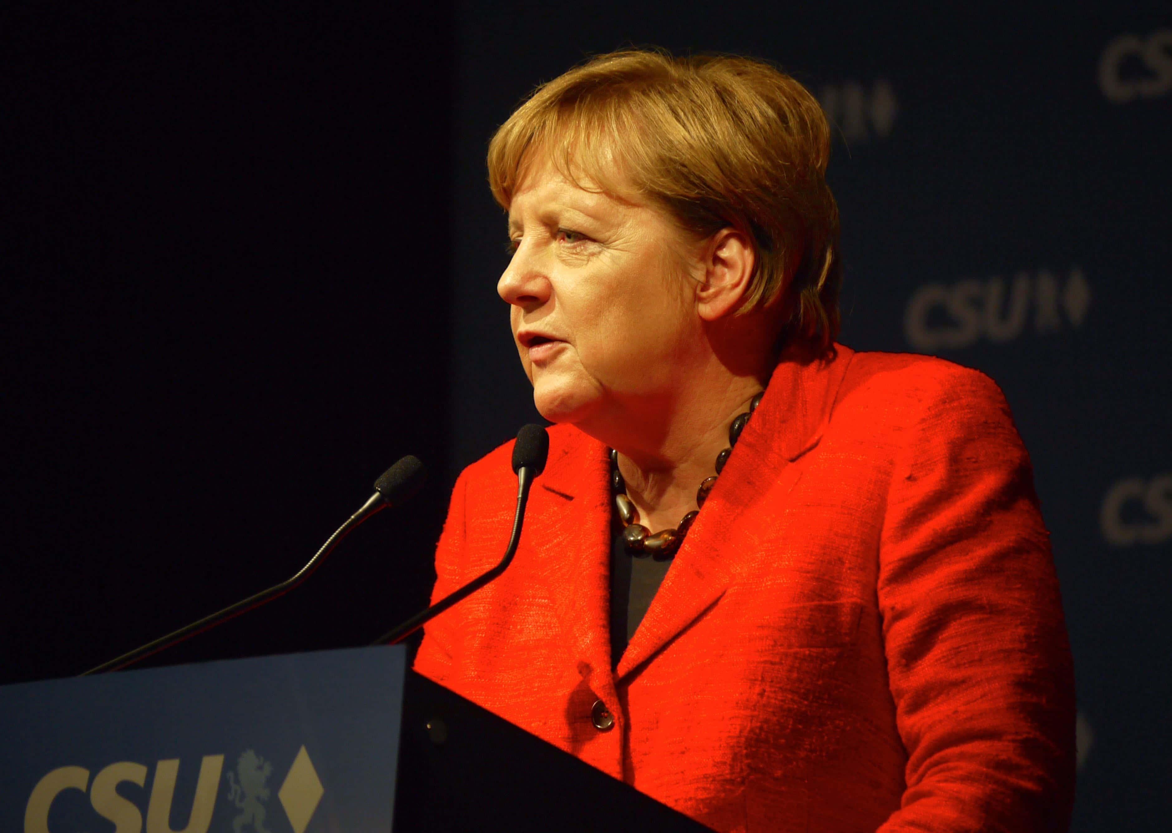 Bundeskanzlerin Angela Merkel   (c) DAZ