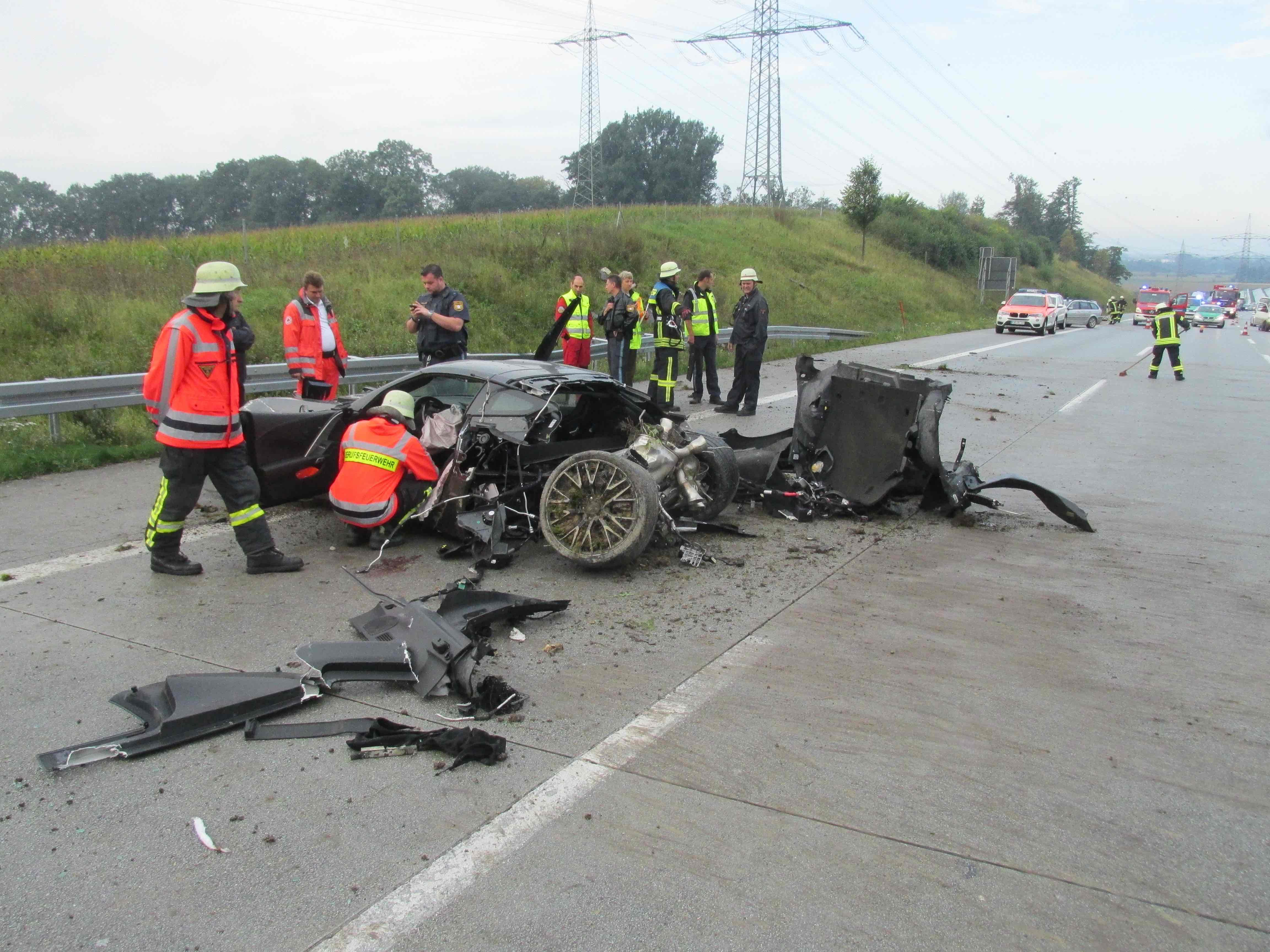Autounfall Gestern