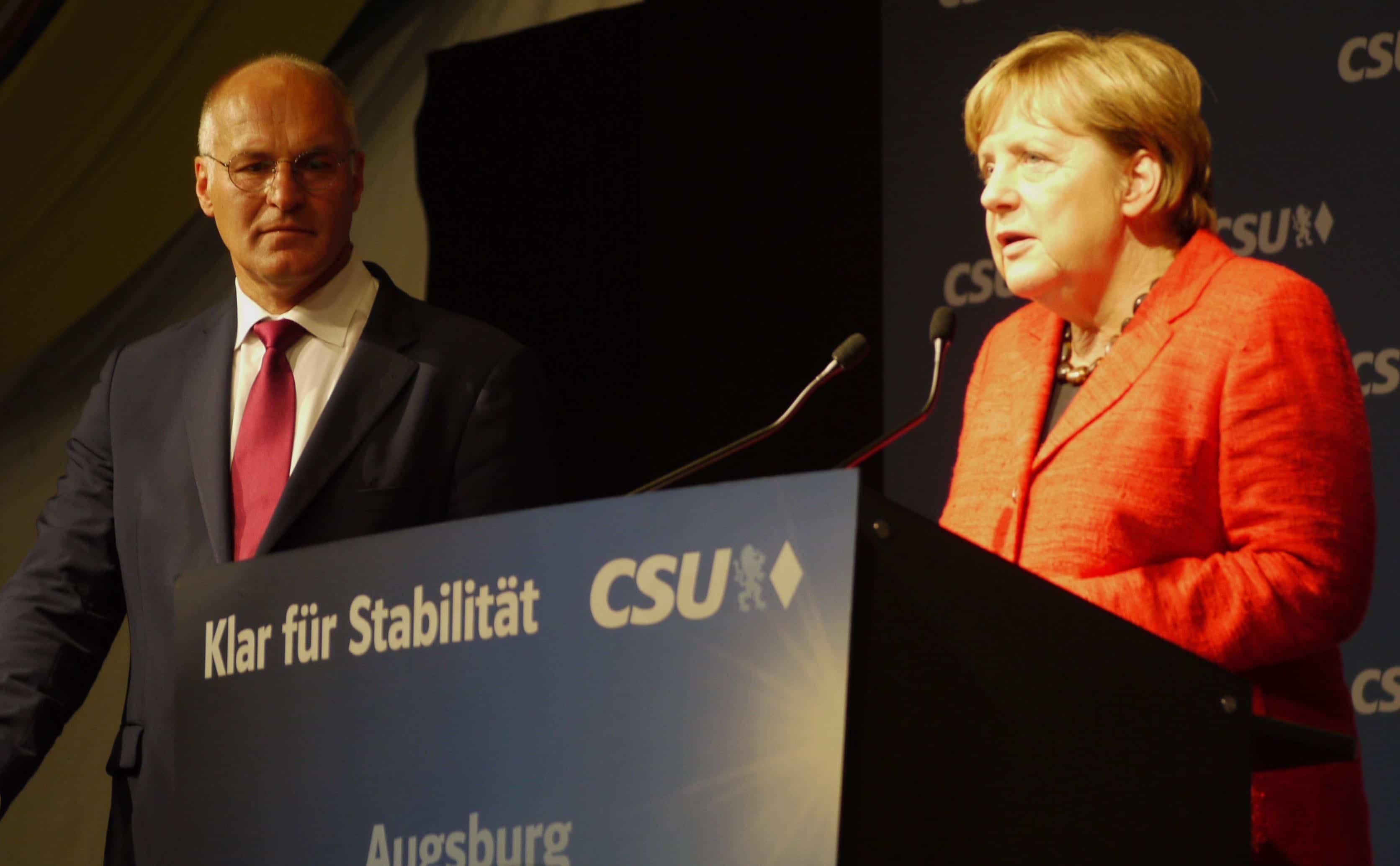 Angela Merkel, Kurt Gribl (c) DAZ
