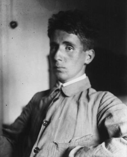 Brecht um 1918 (c) Staats- und Stadtbibliothek Augsburg