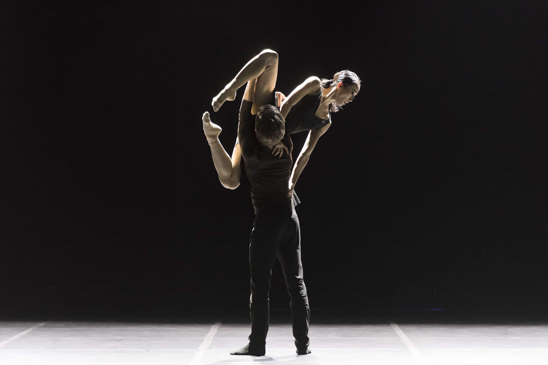 »Six Breaths« mit Jiwon Kim Doede & Nikolaos Doede © Jan-Pieter Fuhr