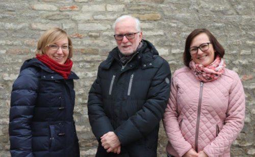 Monika Lechner, Gerwin Pootemans und Izabel Langowska (v.l.n.r., Bild: SkF-Geschäftsstelle)