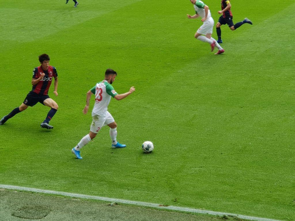 Marco Richter: Ein FCA-Talent auf dem Weg zu einem Top-Spieler © DAZ